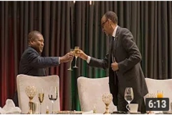 President Kagame hosts a