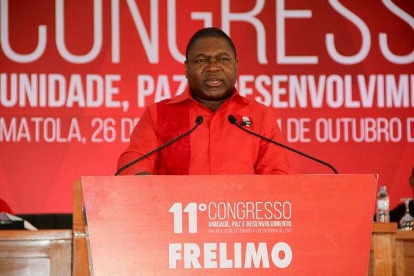 Nyusi inaugura XI Congresso com mensagem democrática
